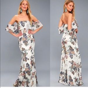 ISO!!! lulu's ray of sunshine floral maxi dress